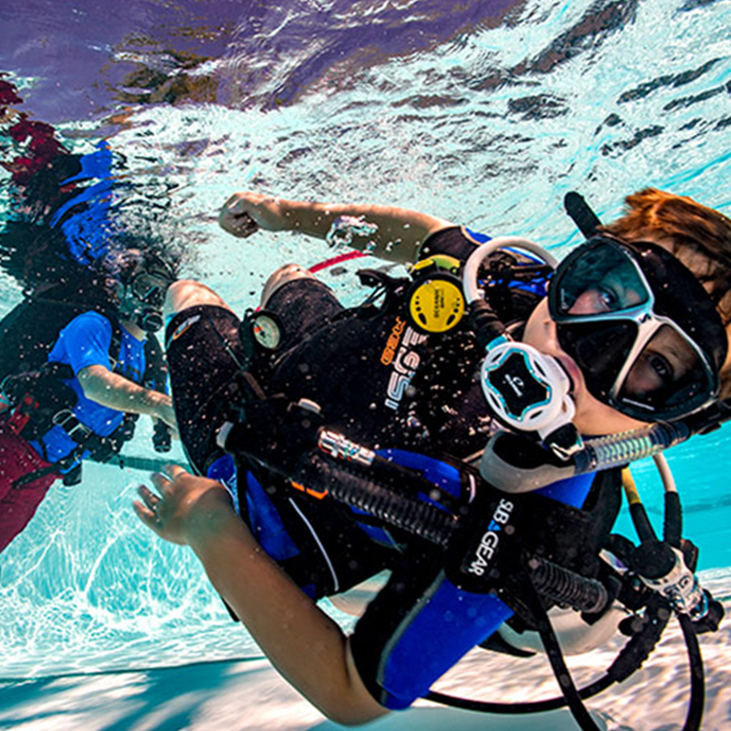 Dive with me - Padi Bubblemaker