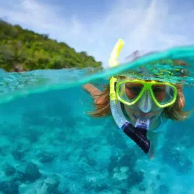 Dive with me - PADI Skin Diver