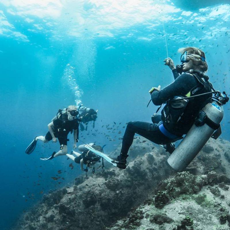 Dive with me - Padi Divemaster